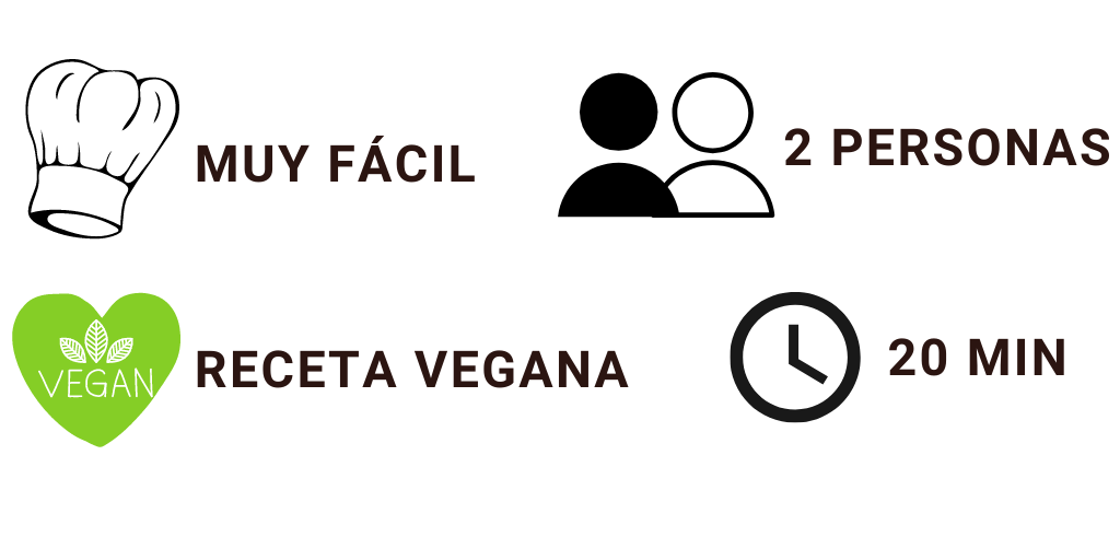 Características receta vegana